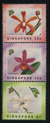Singapore MNH Scott 602-04 Orchids