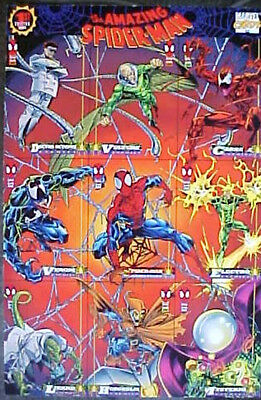 1994 Marvel The Amazing Spiderman 9-Card Promo Sheet!