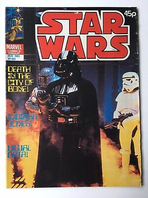 Star Wars Weekly Monthly #169 Rare FN