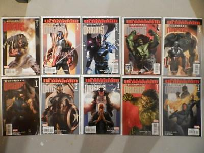 Ultimate Origins #1-5 (Marvel 2008) Complete Lot Run 2 3 4 Reg & Variant NM