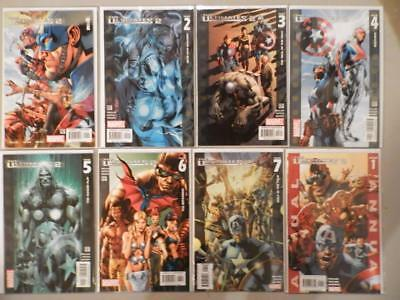 Ultimates 2 #1-7 + Annual (Marvel 2005) Complete Lot Run 2 3 4 5 6  NM