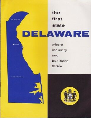 1960's Delaware Industry And Business Booklet