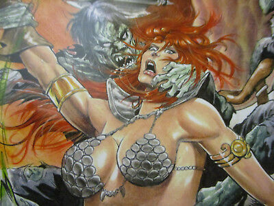 Red Sonja Fantasy Comic Book Lot Sword & Sorcery Sanctuary 1shot 48 Page Special