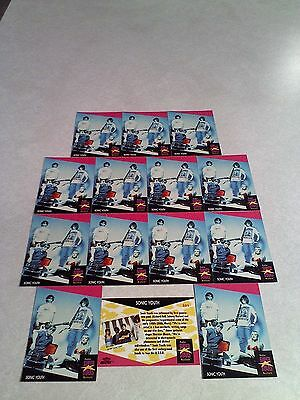 *****Sonic Youth*****  Lot of 27 cards.....2 DIFFERENT