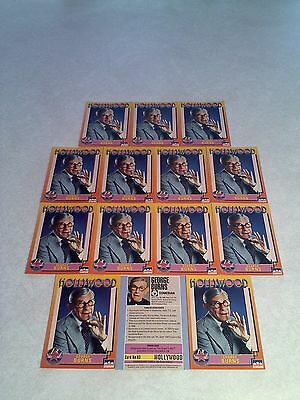 *****George Burns*****  Lot of 14 cards / Hollywood Walk of Fame