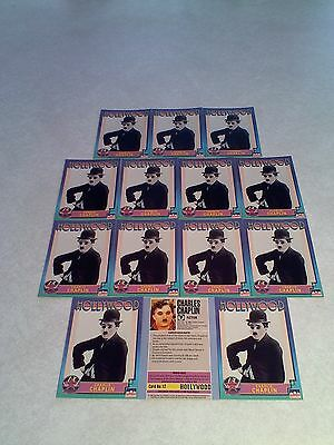 *****Charlie Chaplin*****  Lot of 14 cards / Hollywood Walk of Fame