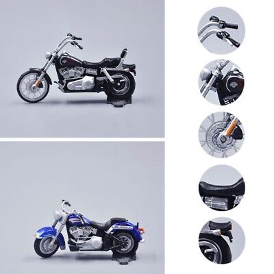 1:43 Small Motorcycle Model Moto Collection Lovers Creative Ornaments Desk