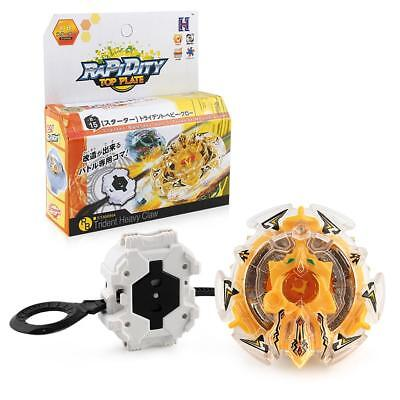 Rapidity Burst Beyblade Trident Heavy Claw B-15 Spinning Top Launcher Toy