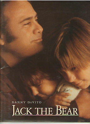 JACK THE BEAR PRESS KIT DANNY DeVITO GARY SINISE REESE WITHERSPOON DREYFUSS