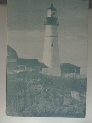 Harbour Lights Spectacle Reef MI 1995 Commemorative Stamp Series Lighthouse #410