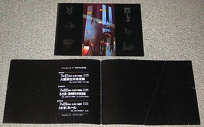 DEPECHE MODE rare JAPAN TOUR BOOK No.2 - 1986 - with FOLDER - others available