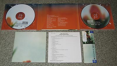 NINE INCH NAILS Japan PROMO issue 2 x CD obi THE FRAGILE others available