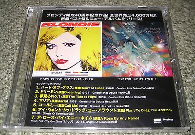 BLONDIE Japan PROMO ONLY CD still SEALED 7 tracks OFFICIAL Debbie Harry GHOSTS