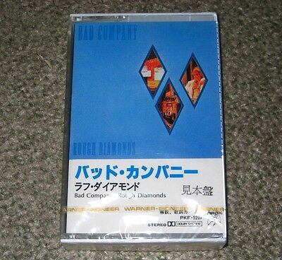 BAD COMPANY Paul Rogers JAPAN PROMO CASSETTE TAPE - SEALED more available