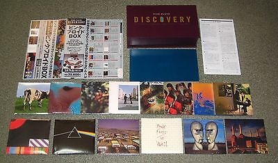 PINK FLOYD Japan PROMO ISSUE Discovery 14 title 16 CD box set NOT mini LP CD obi