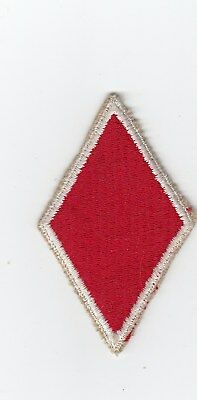 Us Army Patch - 5Th Infantry Division - Variation - White Border