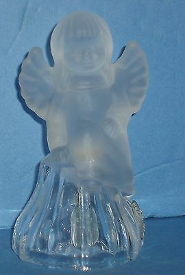 24% Lead Crystal ANGEL Glass Bell