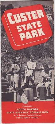 1940's Custer State Park Promotional Brochure
