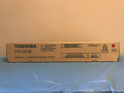 Genuine Toshiba T-FC25M Magenta Toner Cartridge eStudio 2040 2540C 3040 3540C