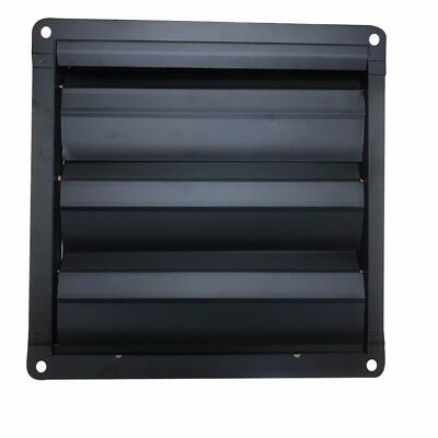 Metal Gravity Louvre Grille Flap Air Vent Shutter For Industrial Commercial Fans