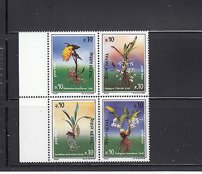 Nepal 1994 Orchids  Sc 550  Mint Never Hinged