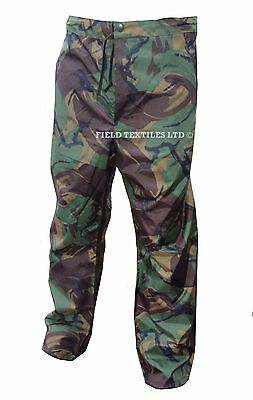 Waterproof Trousers - Woodland Camo - PVC Material - Used - DPPVC Trousers