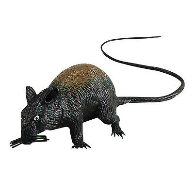 Large Squeaking Rat Halloween Prop Fancy Dress Toy