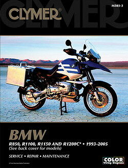 BMW R850R R850GS R850C R1100GS R1100R R1100RS R1100RT R1100S Clymer Manual 503-3