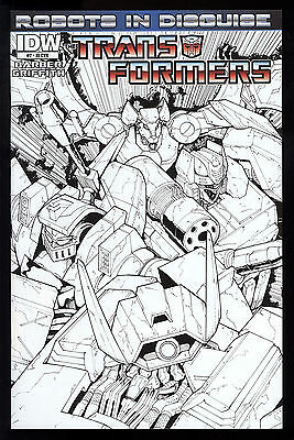 Transformers (2012) #2 Robots in Disguise First Print 1 in 10 RI Cover Var NM-