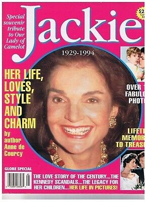 Tribute To Jackie Kennedy Lady of Camelot Globe Special 1929-1994
