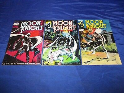 Moon Knight Special Edition (1983) #1-3 1st Print Bill Sienkiewicz C/A NM- to NM