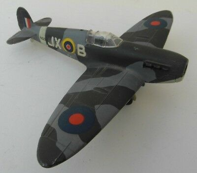 Vintage Dinky Toys 719 Spitfire MKII 2 Diecast Aircraft Model 1970s for Spares!!