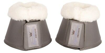 Harry's Horse Overreach Bell Boots - Pewter Grey Harry's Horse