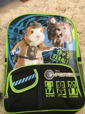 Disney Store Official G-Force Backpack - Brand New