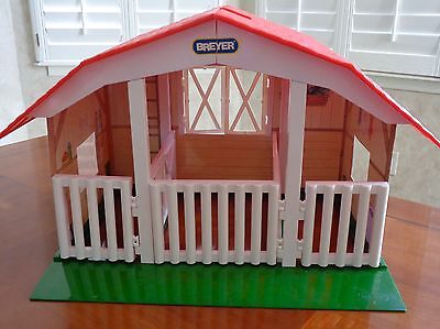 Breyer 3 Stall Barn Stable Swinging Doors For Classic And Pony Girls Horses