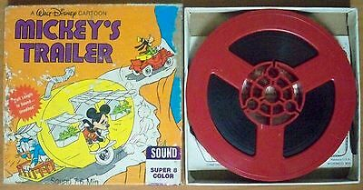 Mickey's Trailer, Walt Disney - Super 8 Colour Sound Film