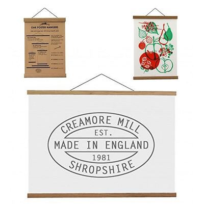 Creamore Mill Wooden Poster or Fabric Hanger with Magnetic Grips