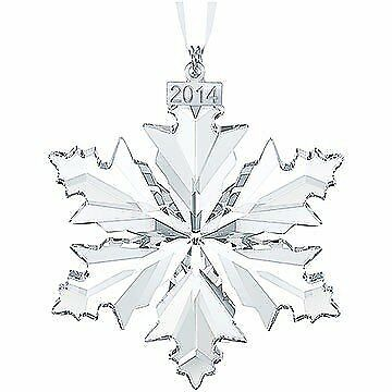 NEW Swarovski Annual Edition 2014 Crystal Snowflake Ornament FREE SHIPPING