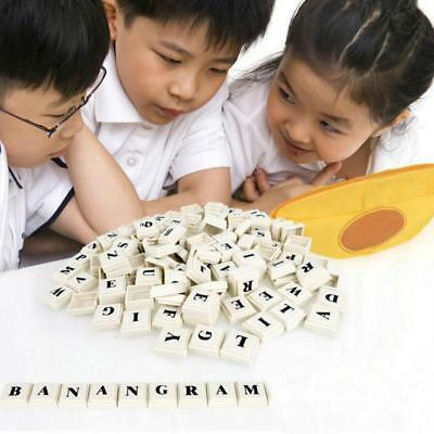 Plastic English Alphabet Banana Spelling Game Banana Puzzle Kids Toys Gift LC