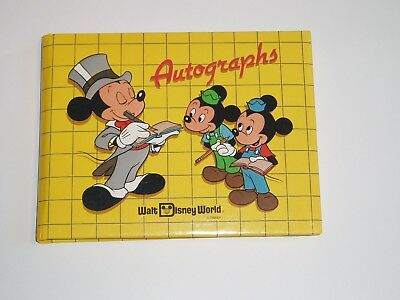 Official Walt Disney World Autograph Book