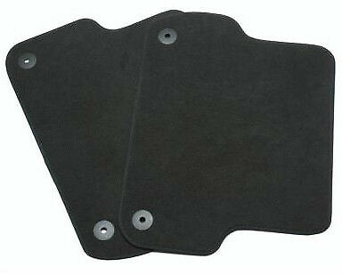 New Genuine Seat Exeo Audi A4 B6 B7 Rear Black Carpet Mats Set