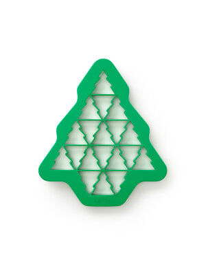 Lekue Christmas Tree Cookie Cutter Seasonal Festive Holiday Pastry Cutter Baking