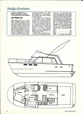 1968 Jefferies 40 Yacht Review & Specs