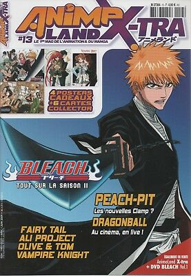Animeland Xtra 13 - Magazine manga - Bleach, Dragon Ball, Peach-pit ...