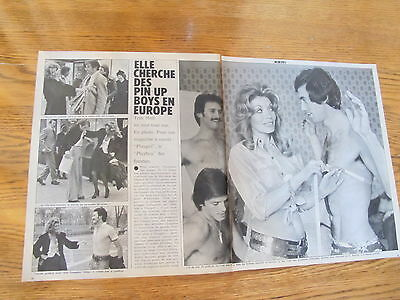 Toni Holt Playgirl Founder  Magazine French Clippings