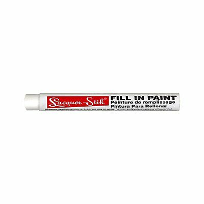 "Markal Lacquer-Stik Highlighter Fill-In Paint Crayon, 3/8"" Diameter, 4-1/4"" Pack"