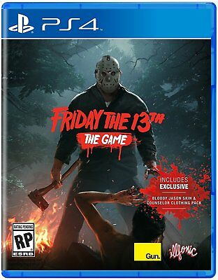 Friday The 13th: The Game - PlayStation 4 PS4 Brand New Ships Worldwide