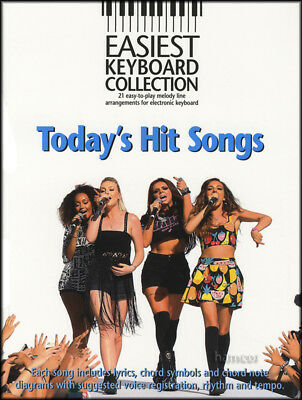 Easiest Keyboard Collection Today's Hit Songs Music Book Gary Barlow Little Mix