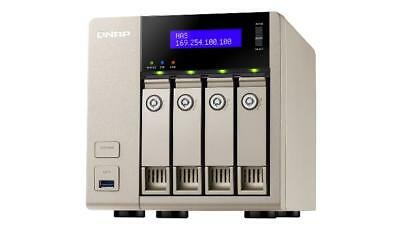 NEW! QNAP TVS-463-4G 8TB 4 x 2TB WD RED PRO 4 Bay NAS Unit with 4GB RAM