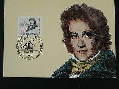 astronomy mathematics Friedrich Wilhlem Bessel maximum card Germany 72863